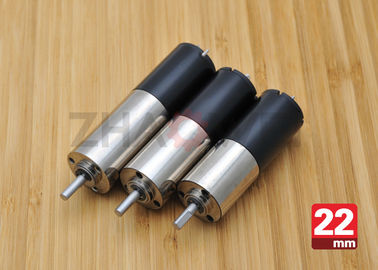 चीन 24V DC Reduction Gearbox DC Gear Motor , 22mm Diameter Planetary Drive Gear Motor आपूर्तिकर्ता