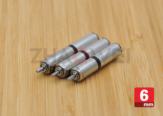 Micro DC Geared Motor Diameter 6mm 3V / Small Low rpm Electric Motor