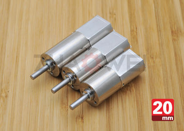 चीन 20mm Dia. Metal Gear Motor , Planetary Gear Reduction Motor Speed Ratio 216 वितरक